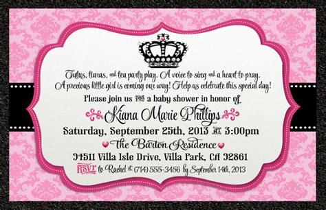 princess baby shower invitation templates free make baby shower invitation wording ideas