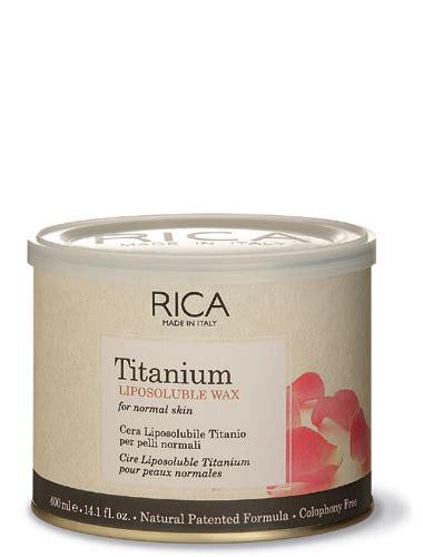 Lem Waxing Rica Lem Waxing Titanium 400ml Supplier Alat Salon