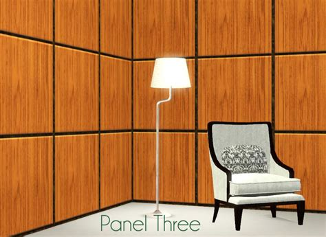 paneled walls mod the sims raised paneled walls