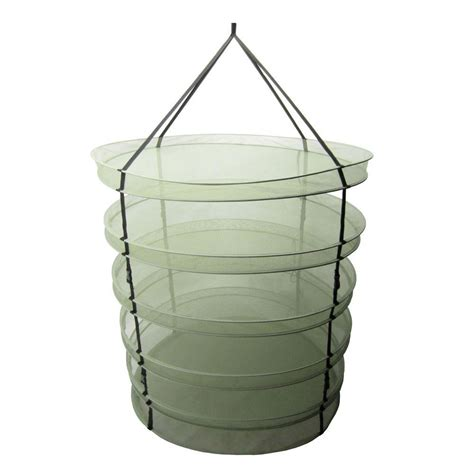Hanging Dryer Rack by Viagrow Net Hanging Herb Drying Rack Vdry200 The Home Depot
