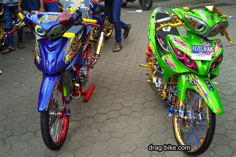 Modifikasi Jupiter Z by 40 Foto Gambar Modifikasi Jupiter Z Kontes Racing Look