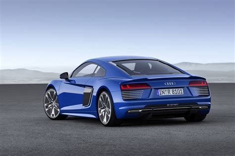 Audi R8 E Tron by 2017 Audi R8 E Tron All Electric Sports Car Live Photos