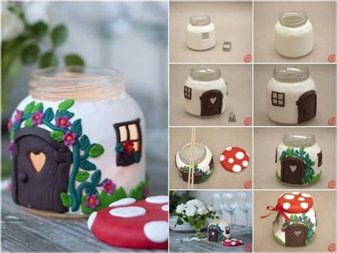 crafts at home diy jar house find projects to do at