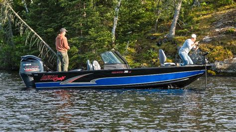 best aluminum fishing boat canada 2017 s best new aluminum boats for canadian anglers page