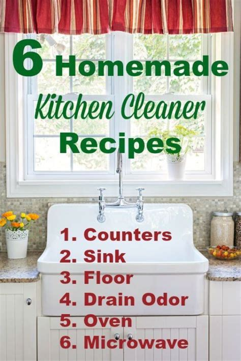 What Does Oven Cleaner Do To Countertops by 6 Kitchen Cleaner Recipes