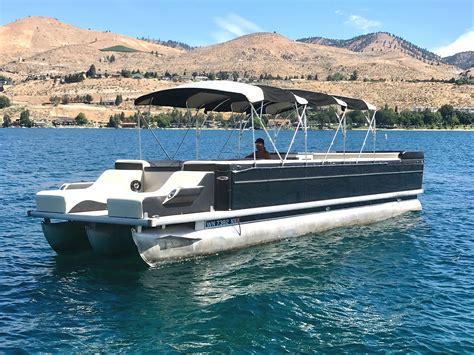 big cabin boats big black22 passenger38 ft chelan parasail watersports