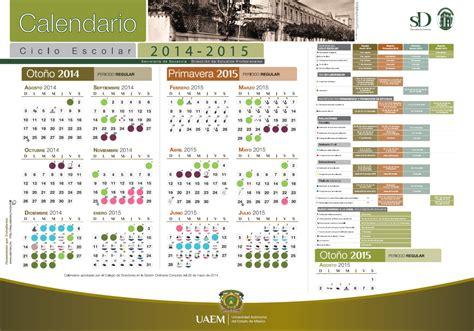 calendario escolar 2016 2017 de la uaemex calendarios escolares universitarios calendariolaboral