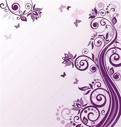 violetta fiori floral fundo violeta vetor de stock 169 antonovaolena