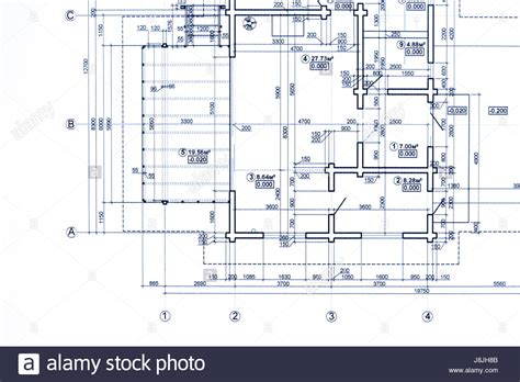 technical drawing floor plan part of blueprint floor plan technical drawing background