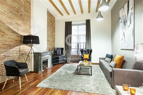 Appartments For Rent Barcelona by Furnished Loft Apartment For Rent In Barcelona