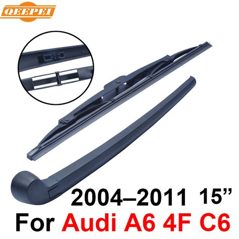 2004 audi a6 wiper blades qeepei rear wiper blade and arm for audi a6 4f c6 2004
