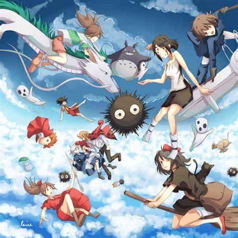 beautiful anime art inspired  studio ghibli joyenergizer