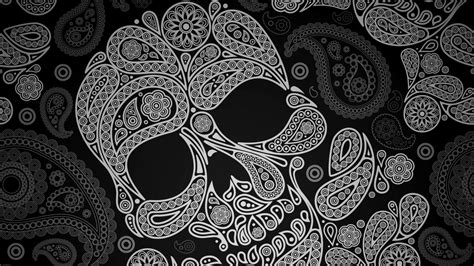 skull wallpaper pinterest paisley skull nexus 5 wallpapers art pinterest