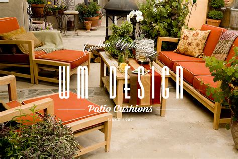 Upholstery Fabric Downtown Los Angeles by Custom Outdoor Cushions Replacement Patio Cushions Los