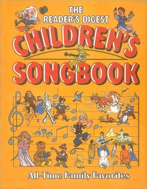 libro enri 400042280 hardback spiral the reader s digest children s songbook by reader s digest editors hardcover barnes noble 174