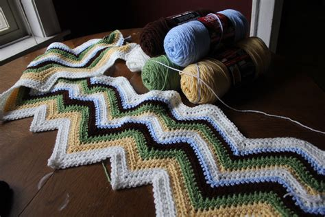 easy zig zag afghan crochet pattern zig zag crochet pattern easy crochet patterns