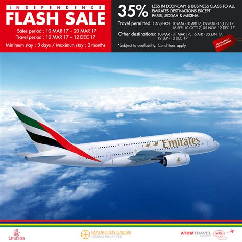 emirates sale emirates independence flash sales atom travel