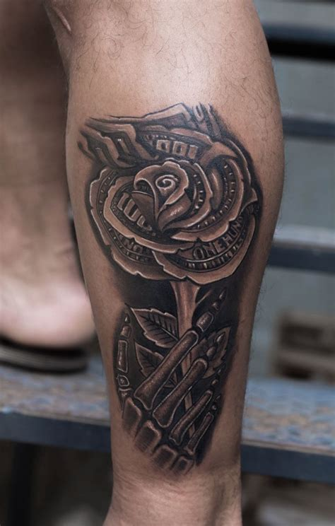 dollar rose tattoo 163 best tattoos images on custom