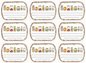 chutney label templates coloured imagination