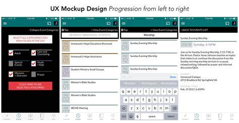 Ux Design Mockup   ux design mockup ed21 media services
