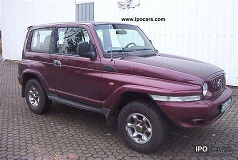 ssangyong korando 1999 1999 ssangyong e32 korando automatic car photo and specs