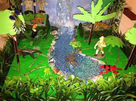 amazon rain forest diorama background and animals girl best photos of rainforest ecosystem diorama rainforest