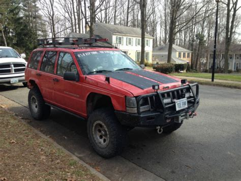 lifted jeep grand lifted customized jeep grand zj 5 2l v8