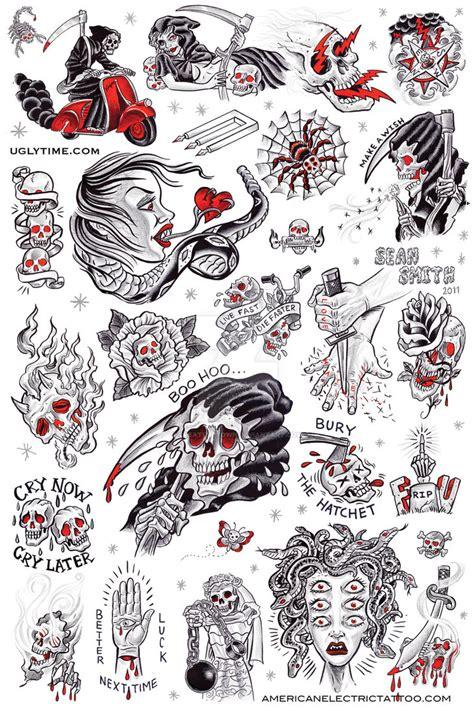 tattoo flash reddit tattoo flash poster 1 by creaturetown on deviantart