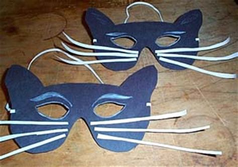 How To Make A Cat Mask Out Of Paper - cat mask craft mylot