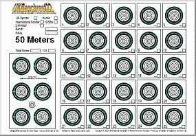 printable 22lr targets 22lr paper targets pictures to pin on pinterest pinsdaddy