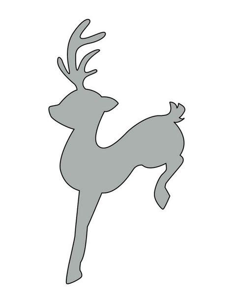 fensterbilder weihnachten schablone schablone elch f 252 r fensterbilder fenster vor die t 252 r