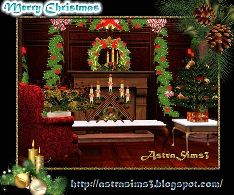 My Sims 3 Blog: Christmas Decorations by Astra