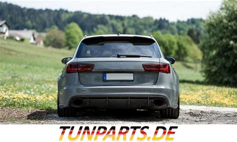 Audi Rs6 Kaufen by Rs6 Look Diffusor F 252 R Audi A6 Bei Tunparts G 252 Nstig Kaufen