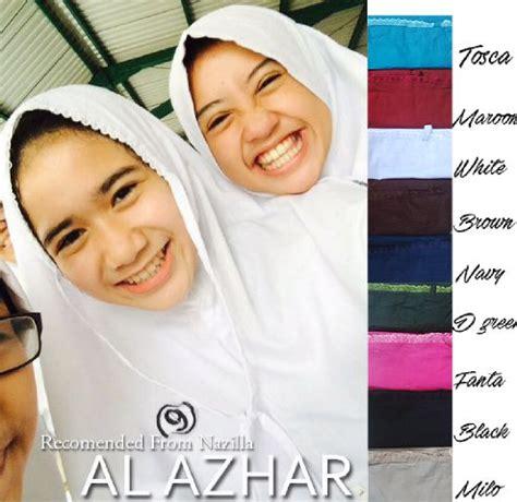 Jilbab Bergo Sekolah jual kerudung al azhar jilbab instan bergo kerudung