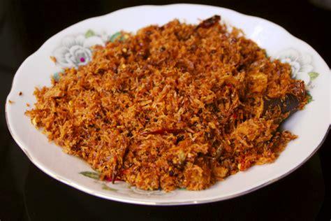 As Kelapa Kering cara membuat serundeng kelapa gurih kering resep dan masakan