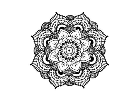mandala tattoo png mandala png tattoo set