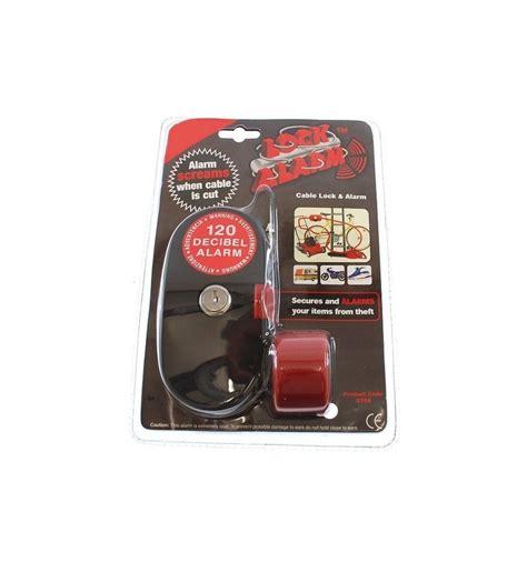 Alarm Lock 4 6 metre cable lock alarm 6797