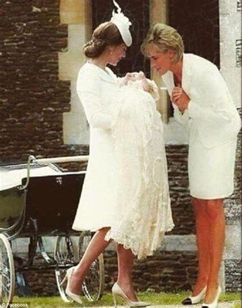 lade di sale photoshopped picture of princess diana with kate middleton
