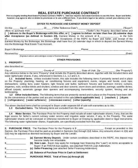 11 purchase contract sles templates doc pdf