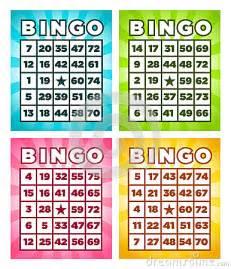 bingo cards royalty free stock photo image 30344025
