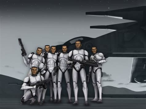 Blender Cosmos Blaze clone troopers of note gearshift hawkeyes rys jek