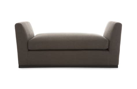bench seat sofa showrooms winged bench seat stools benches the sofa chair company