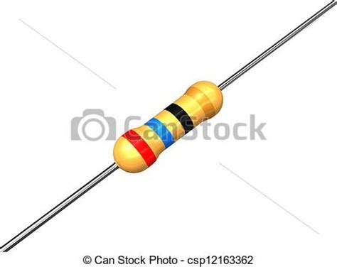 resistor pictures free stock illustration of resistor resistor illustration csp12163362 search clip drawings