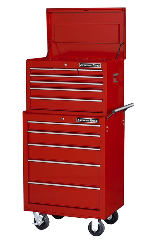 best deals on tool cabinets extreme tools 26ʺ 7 top chest and 5 roller