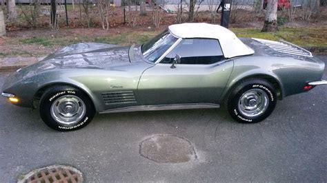 l posts for sale 1971 corvette convertible l48 steel cities gray