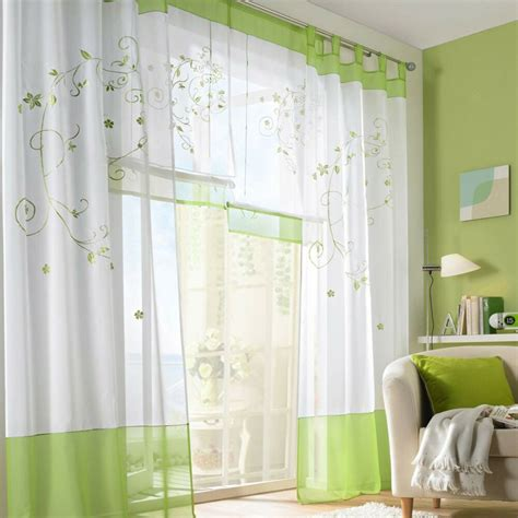 room valances 1pcs tab top window curtains floral sheer curtain drapes for living room ebay
