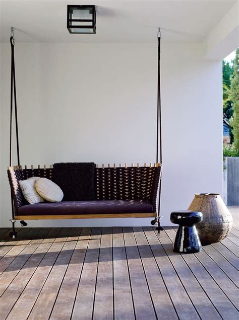 swing designer modern porch swing karin meyn i wish just a swingin