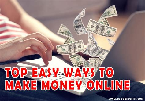 Make Easy Money Online Fast - blogging fist learn quality stuff
