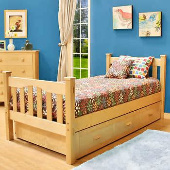 costco trundle bed gabriel twin trundle bed