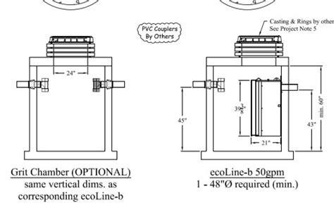 design criteria for grit chamber ecoline b oil water separator